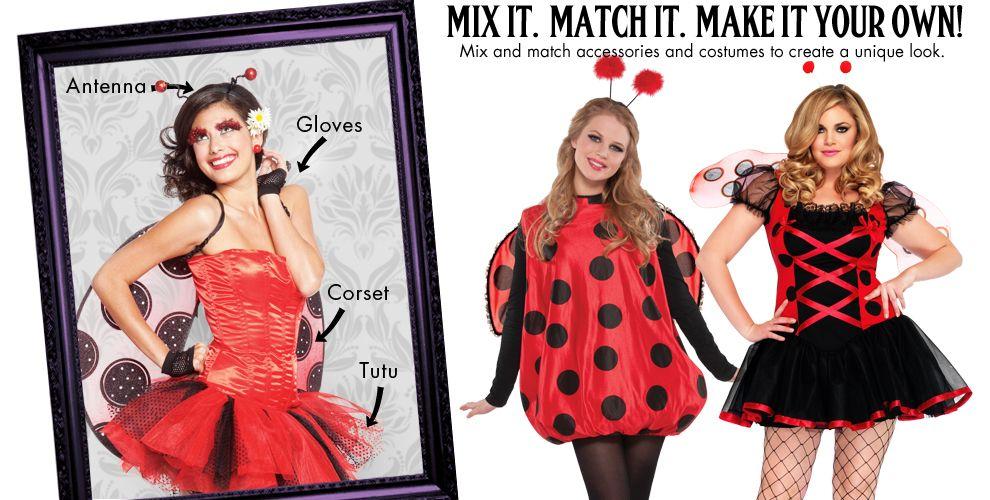 Ladybug Womens Mix & Match #1