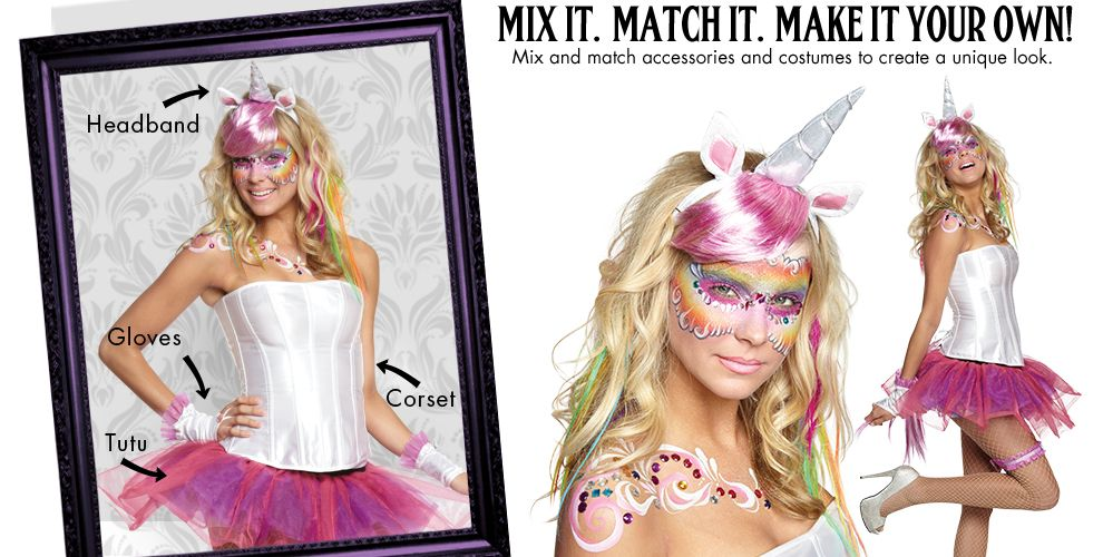 Mystical Unicorn Womens Mix & Match #1