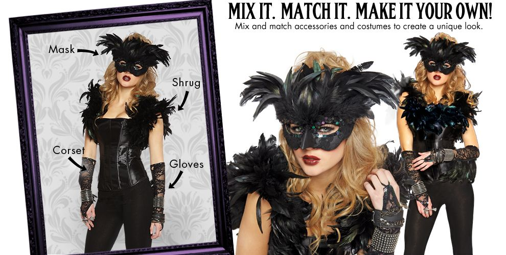 Fantasy Raven Womens Mix & Match #1