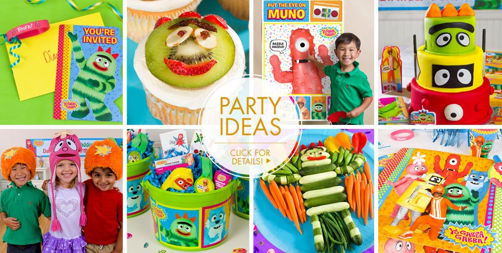 Yo Gabba Gabba! Party Supplies – Party Ideas