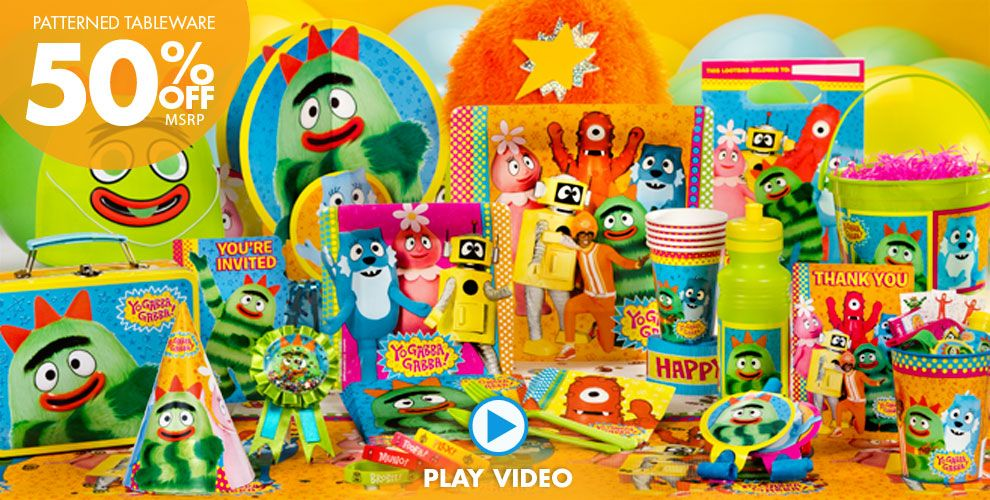 Yo Gabba Gabba Party Supplies #1