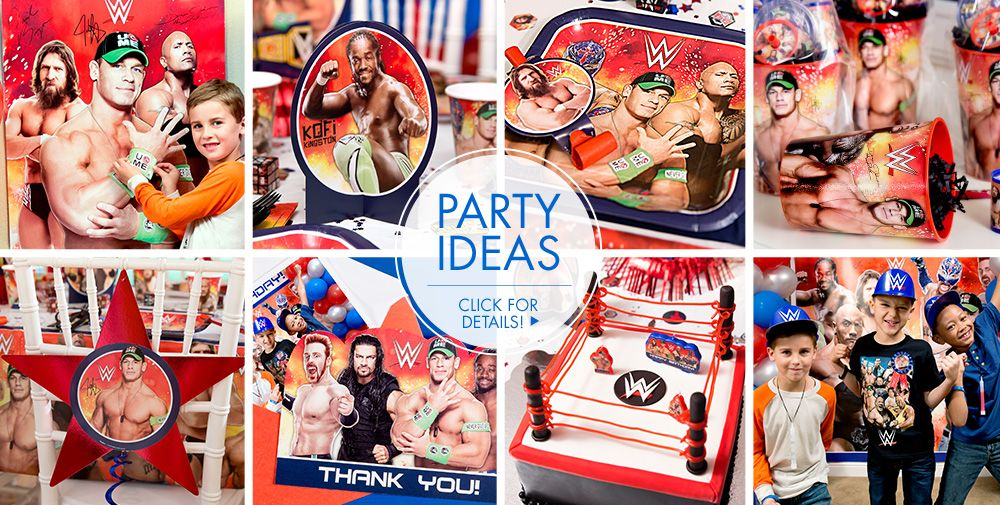WWE – Party Ideas