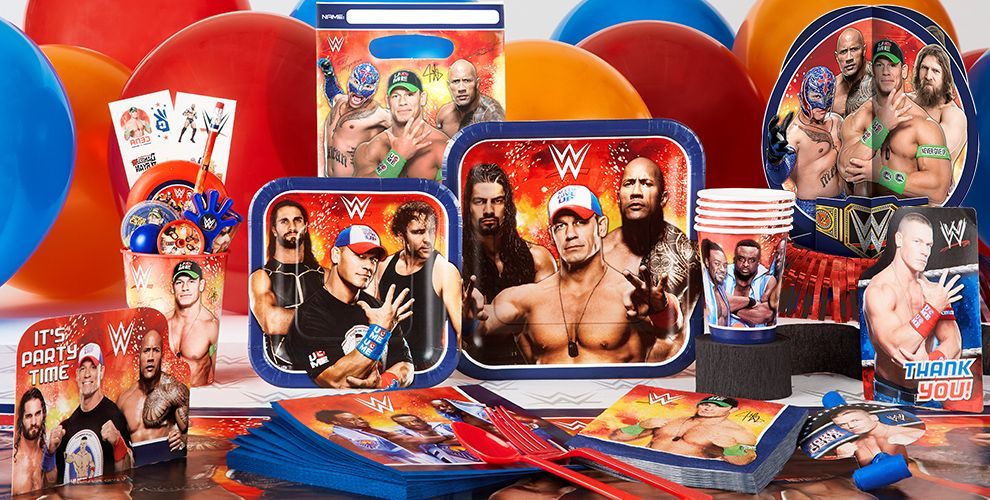 WWE Party Supplies #1
