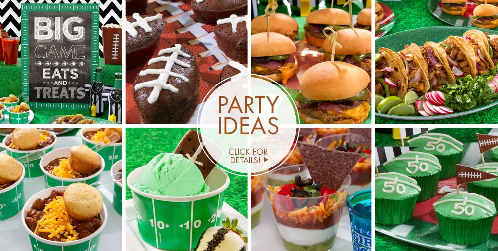 Football Party Ideas – Click for Details