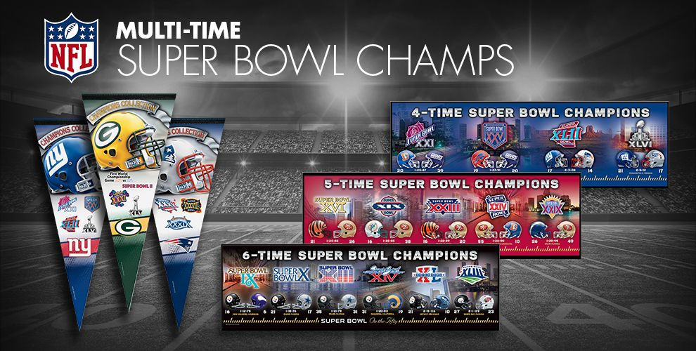 Multi Time Super Bowl Champs