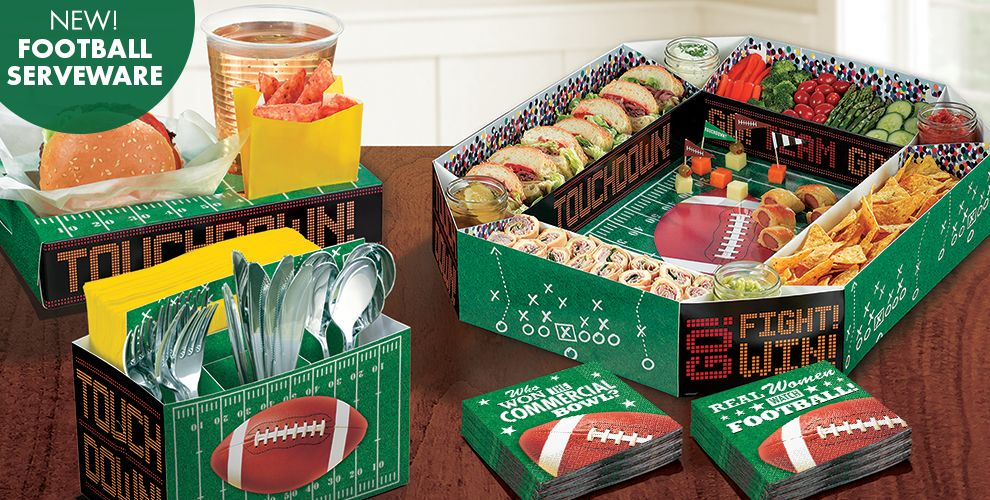 Super bowl party supplies 2016 super bowl decorations for Super bowl party items