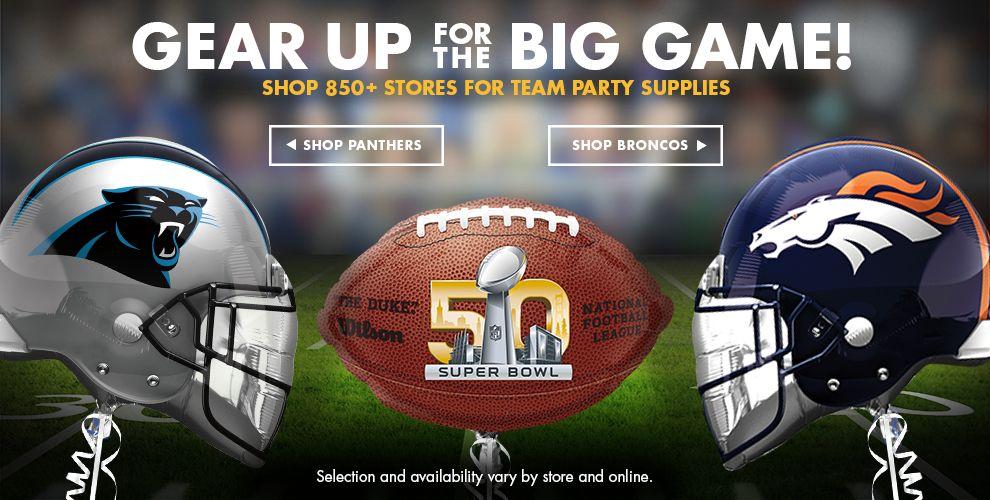 Super Bowl Party Supplies #2