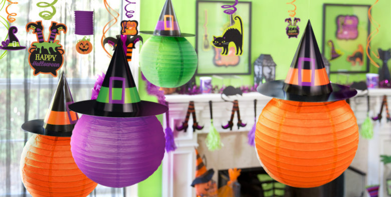 hanging halloween decorations - Halloween Decorations For A Party
