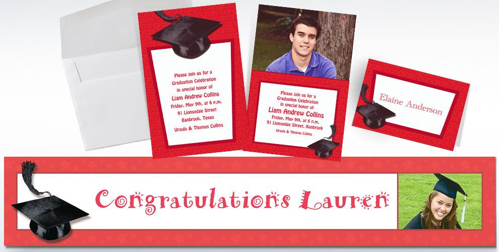 Party City Graduation Invitations can inspire you to create best invitation template