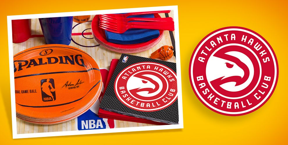 NBA Atlanta Hawks Party Supplies