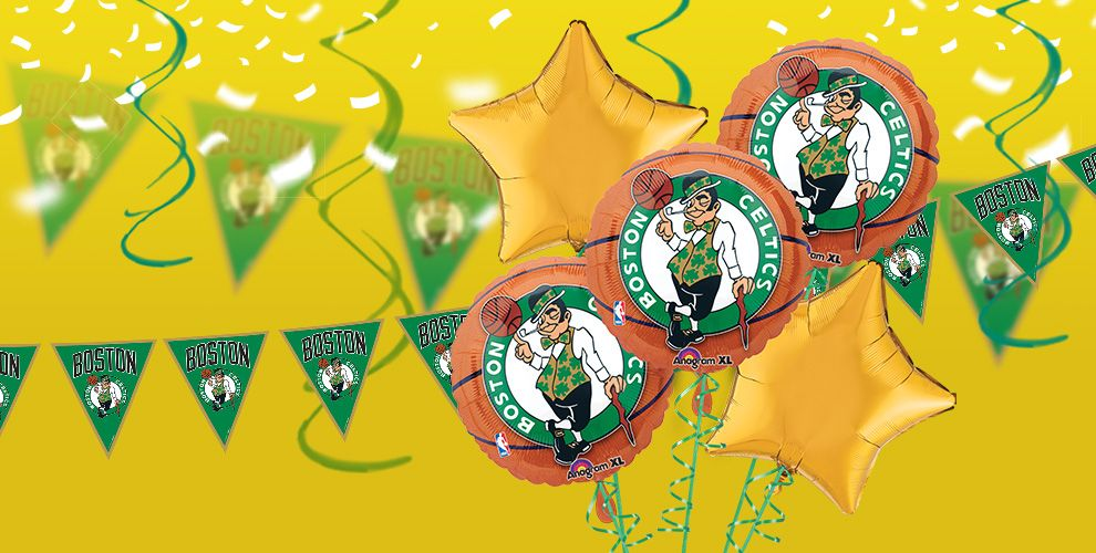 NBA Boston Celtics Party Supplies