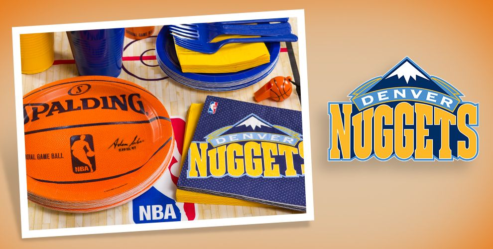 NBA Denver Nuggets Party Supplies