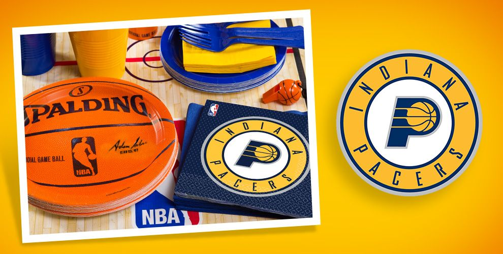 NBA Indiana Pacers Party Supplies