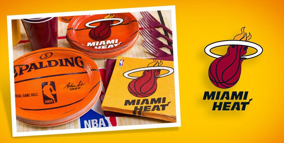NBA Miami Heat Party Supplies