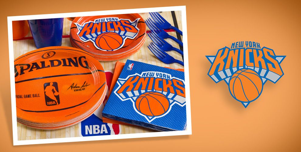 NBA New York Knicks Party Supplies