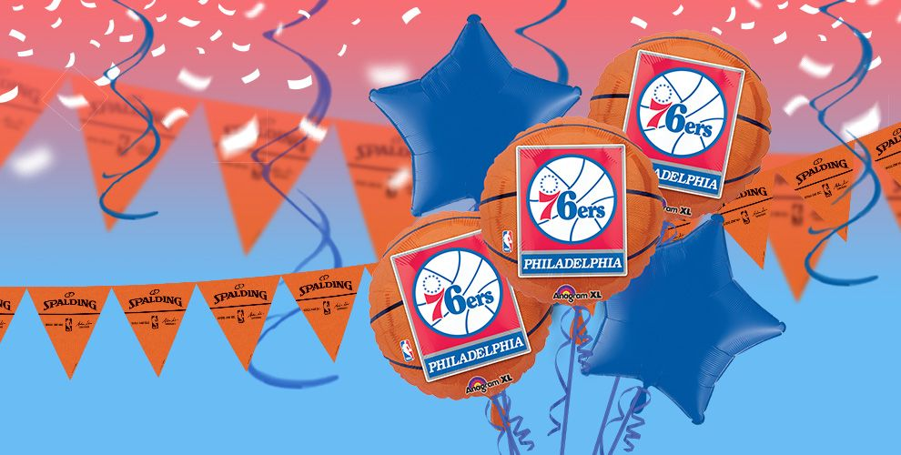 NBA Philadelphia 76ers Party Supplies