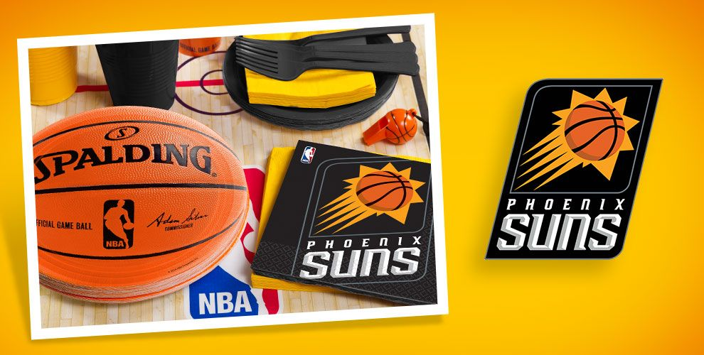 NBA Phoenix Suns Party Supplies