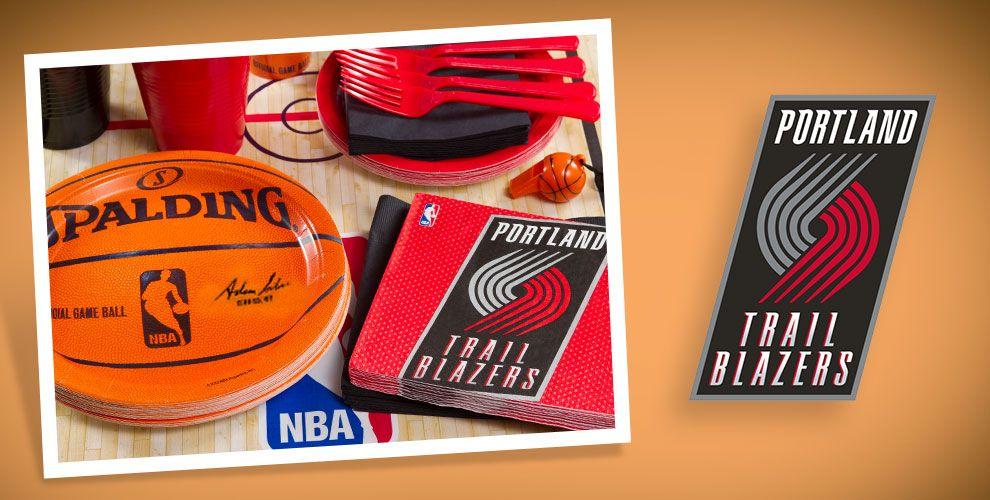 NBA Portland Trail Blazers Party Supplies