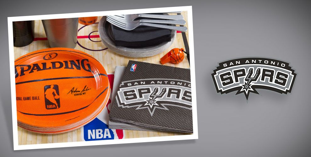NBA San Antonio Spurs Party Supplies
