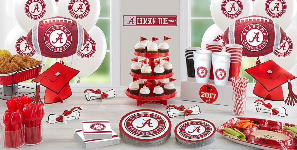 Alabama Crimson Tide Party Supplies