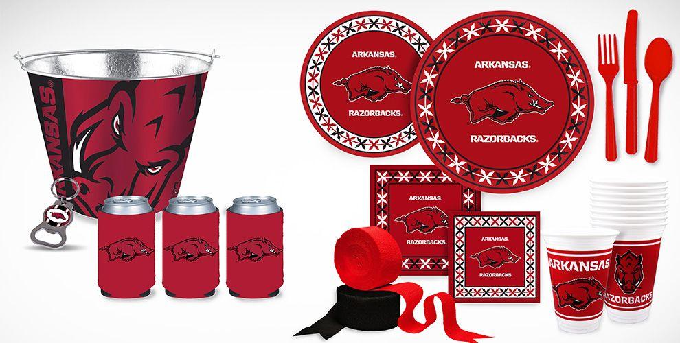 Arkansas Razorbacks Party Supplies