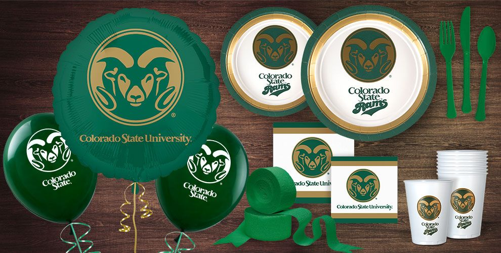 Colorado Rams Party Supplies