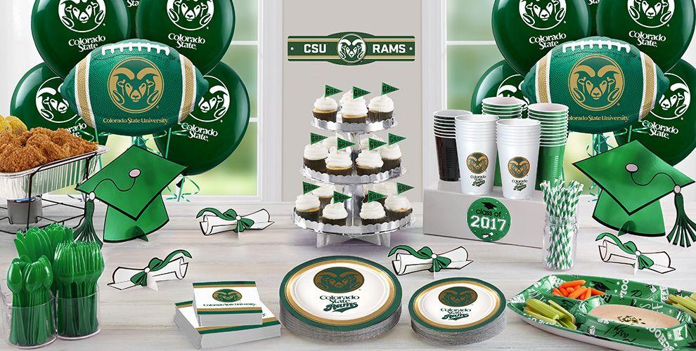 Colorado State Rams Party Supplies