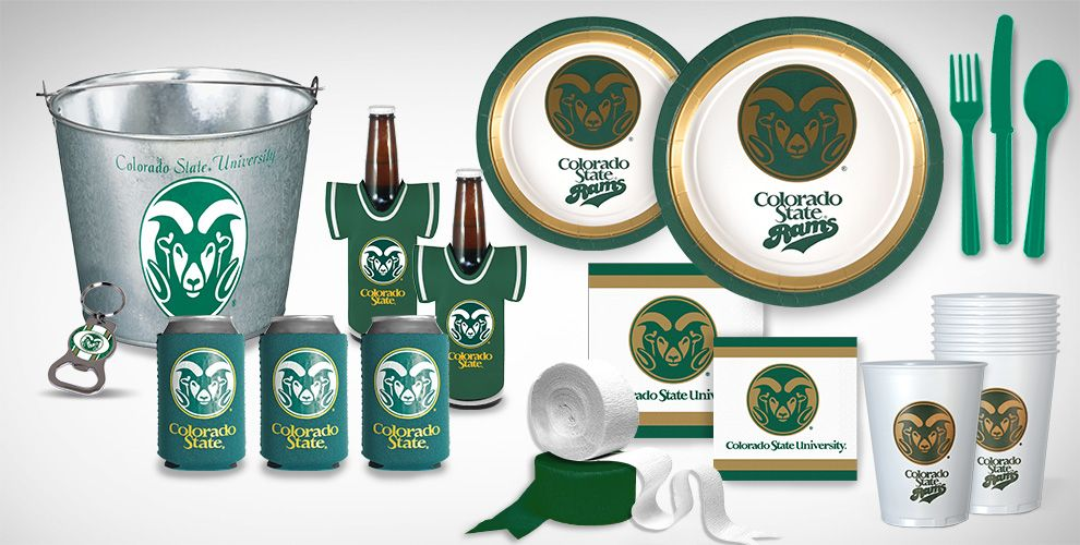 Colorado State Rams Party Supplies