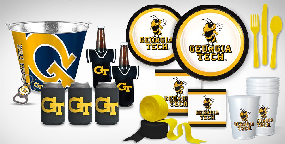 Georgia Tech Yellow Jackets Party Supplies