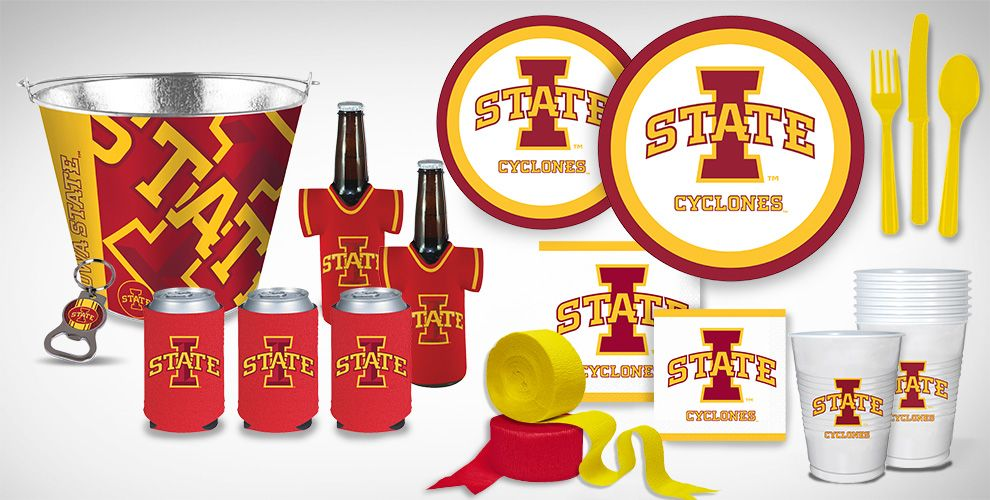 Iowa State Cyclones Party Supplies