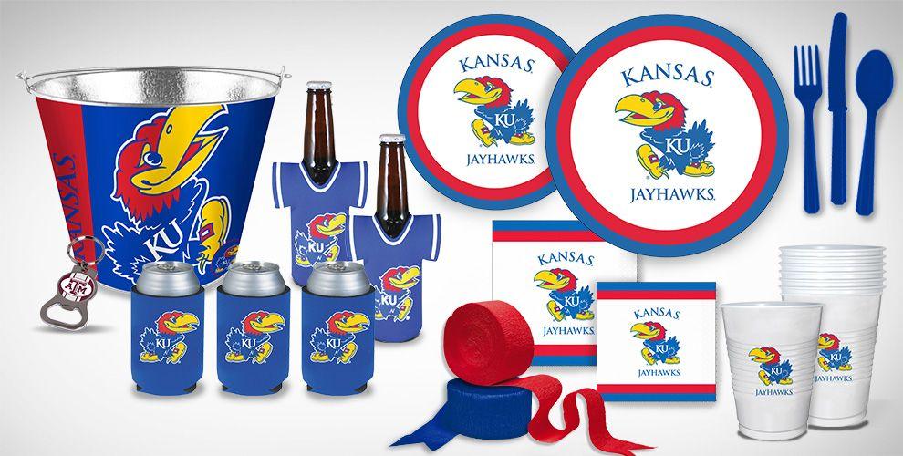 Kansas Jayhawks Party Supplies
