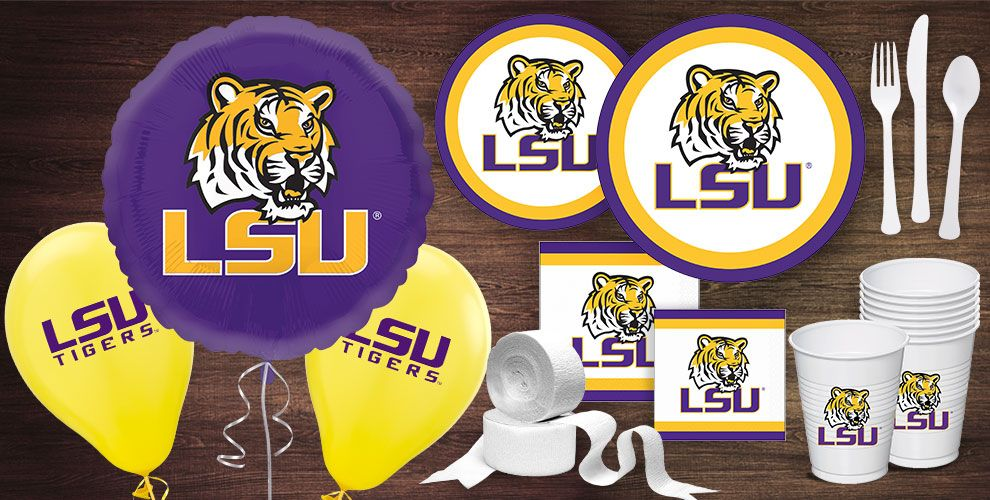 LSU Party Supplies