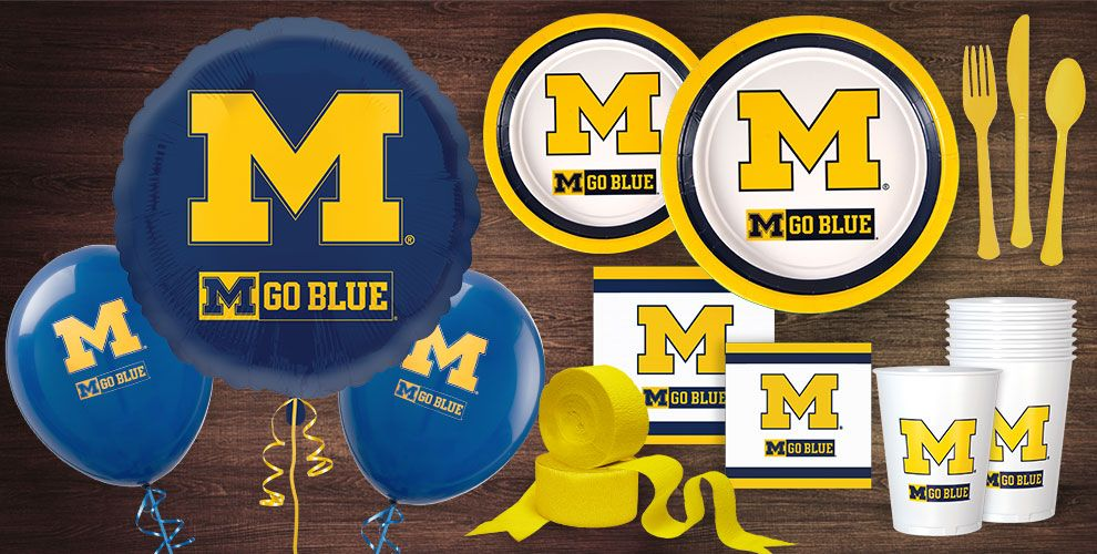 Michigan Wolverine Party Supplies