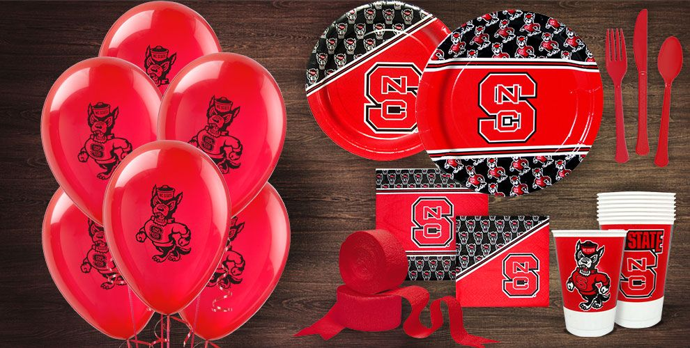 North Carolina State Wolfpack Party Supplies