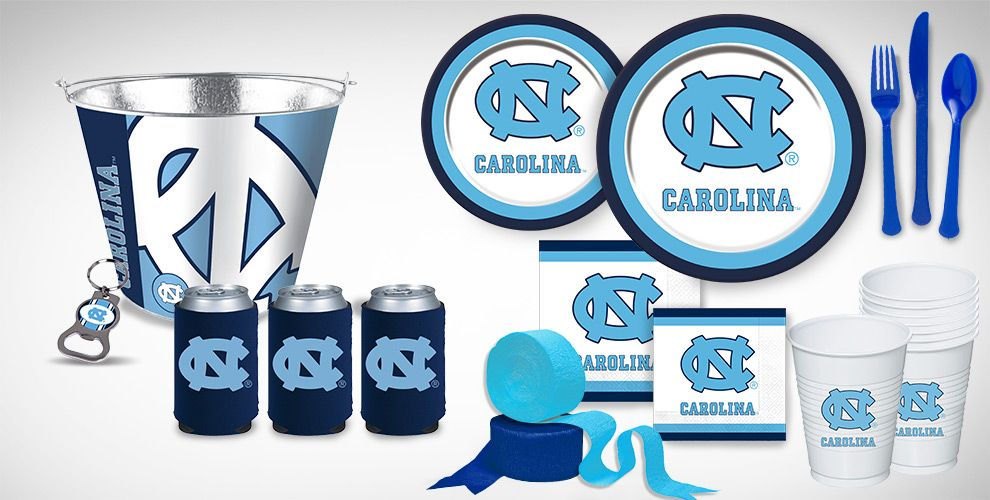 North Carolina Tarheels Party Supplies