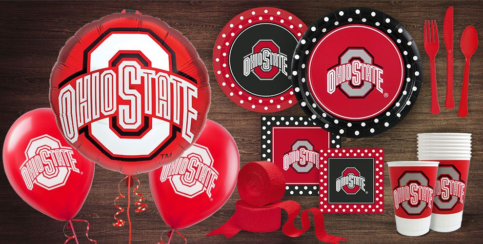 Ohio State Buckeyes Party Supplies Party City