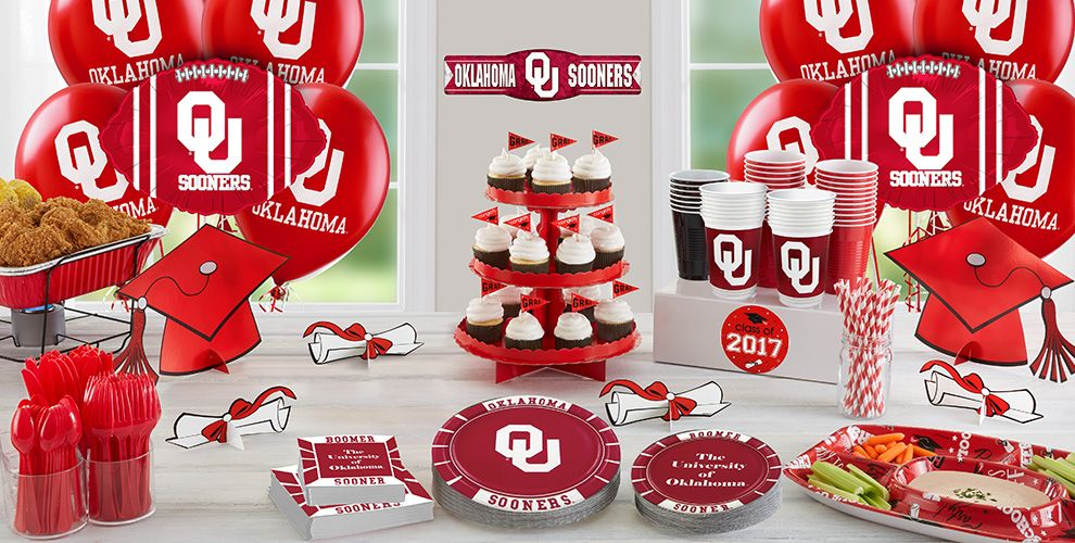 Oklahoma Sooners Party Supplies