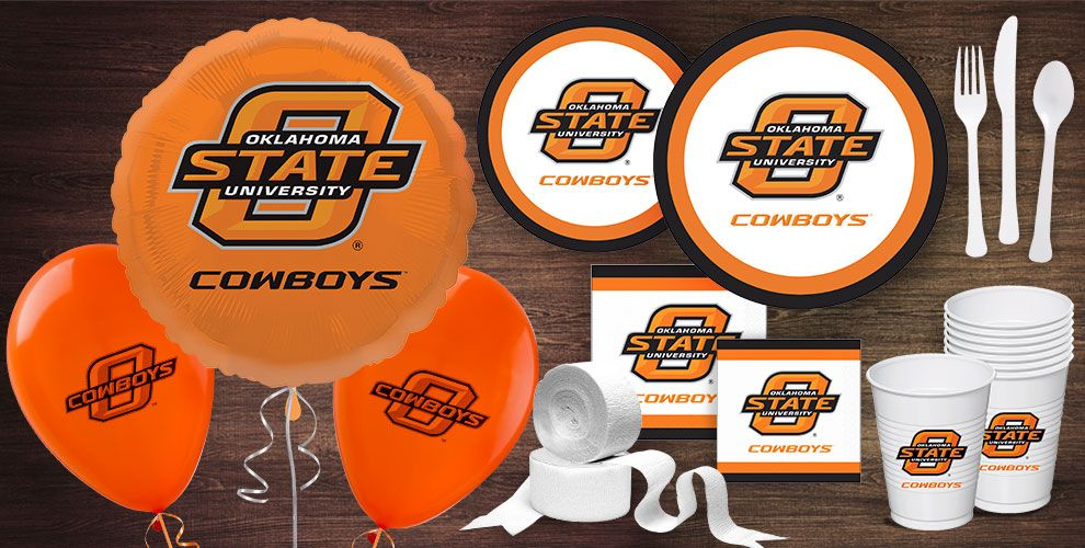 Oklahoma State Party Supplies