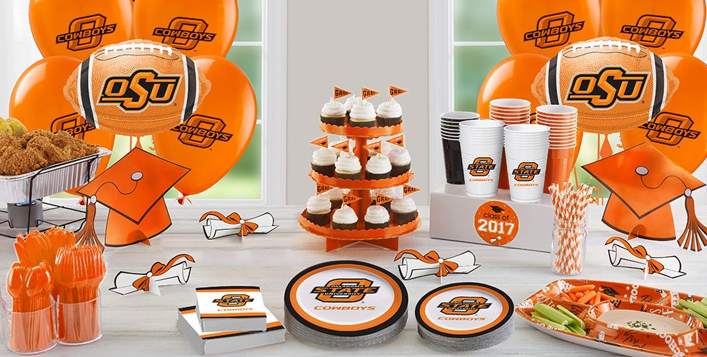 Oklahoma State Cowboys Party Supplies