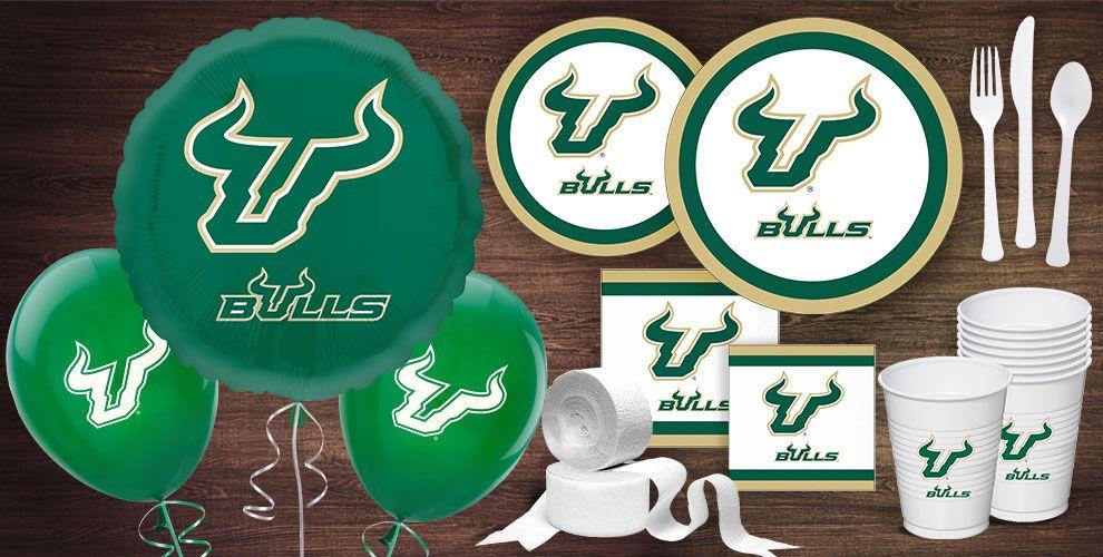 South Florida Bulls Party Supplies