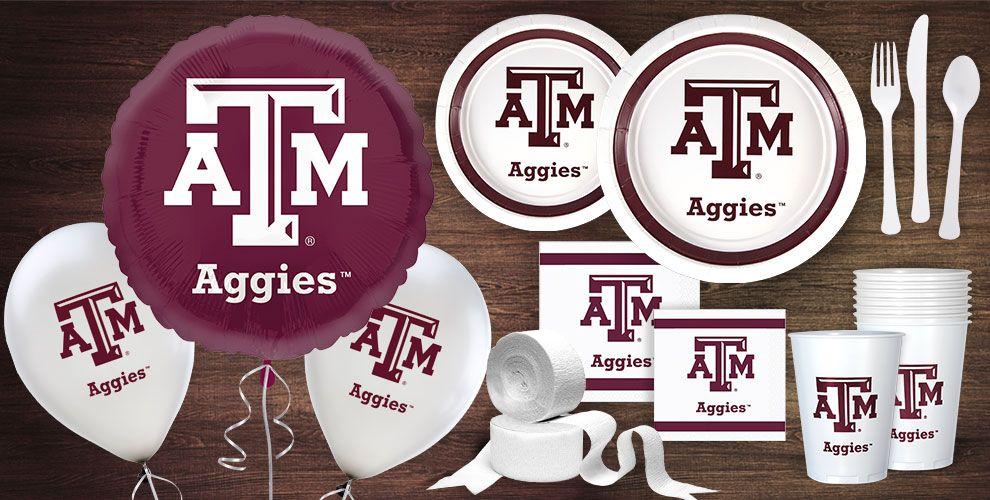 Texas A&M Aggies Party Supplies