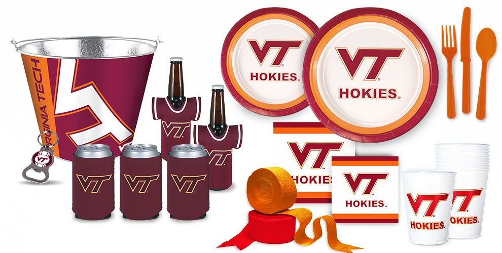 Virgina Tech Hokies Party Supplies