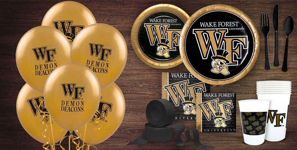 Wake Forest Party Supplies
