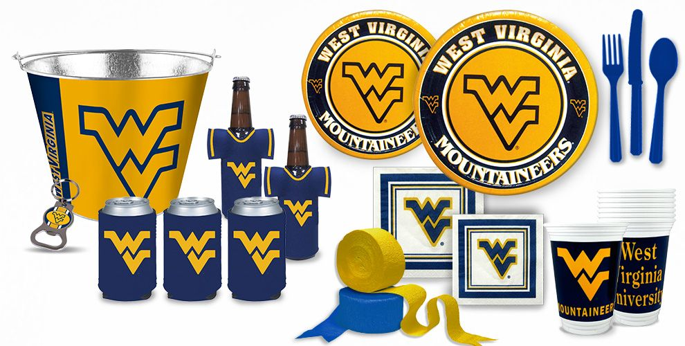West Virginia Moutaineers Party Supplies