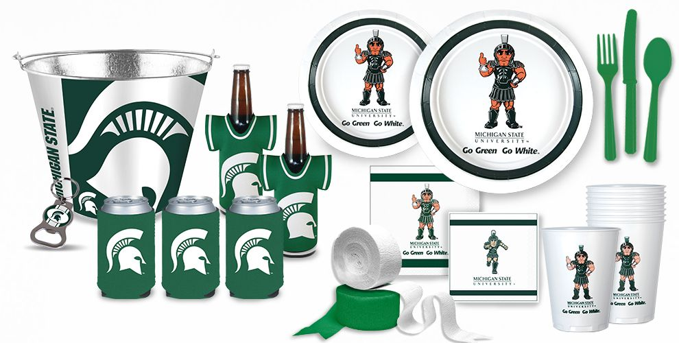Michigan State Spartans Party Supplies  Party City. Decorative Tassels. Geode Decor. Decorative Door Wreaths. Dining Room Tables Cheap. Decorative Solar Lanterns. Hotels With Jacuzzi In Room Ny. Decorative Hardware. Decorative Home Accessories