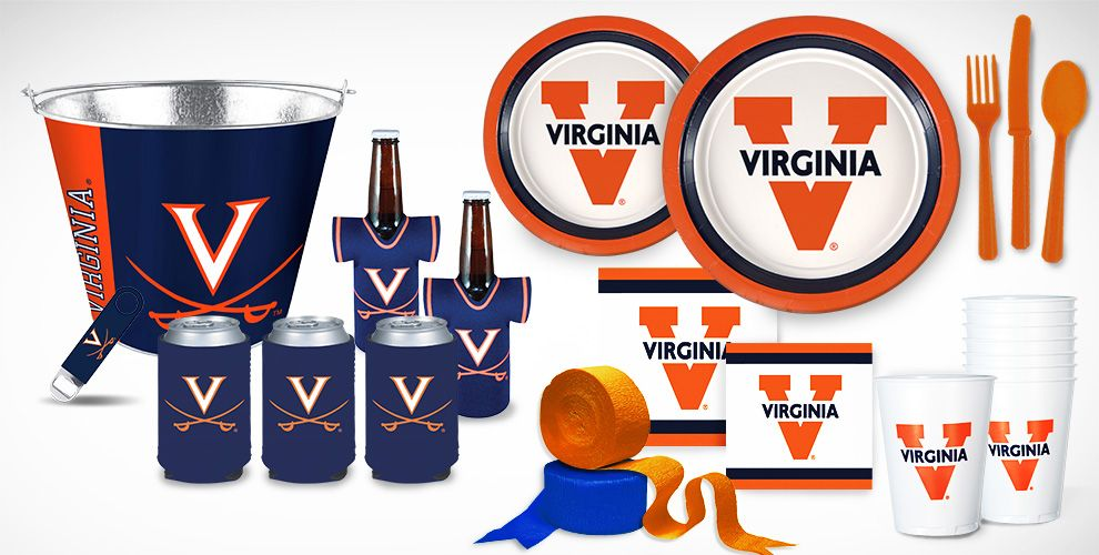 Virgina Cavaliers Party Supplies