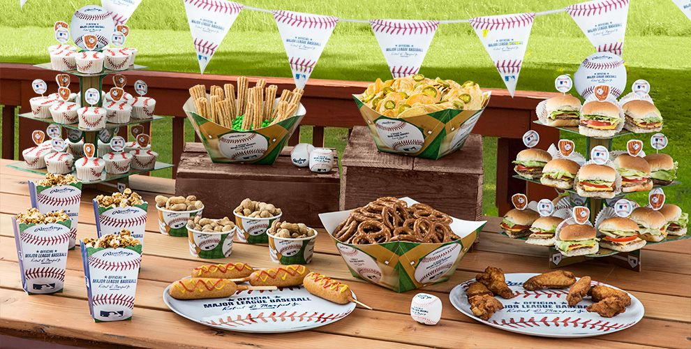 MLB Atlanta Braves Party Supplies