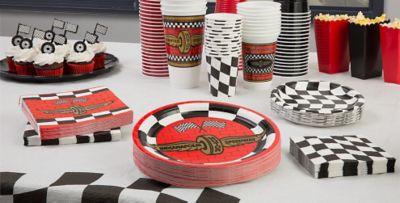 race car theme decorations