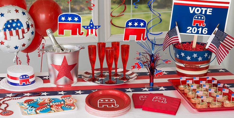 Republican Party Supplies
