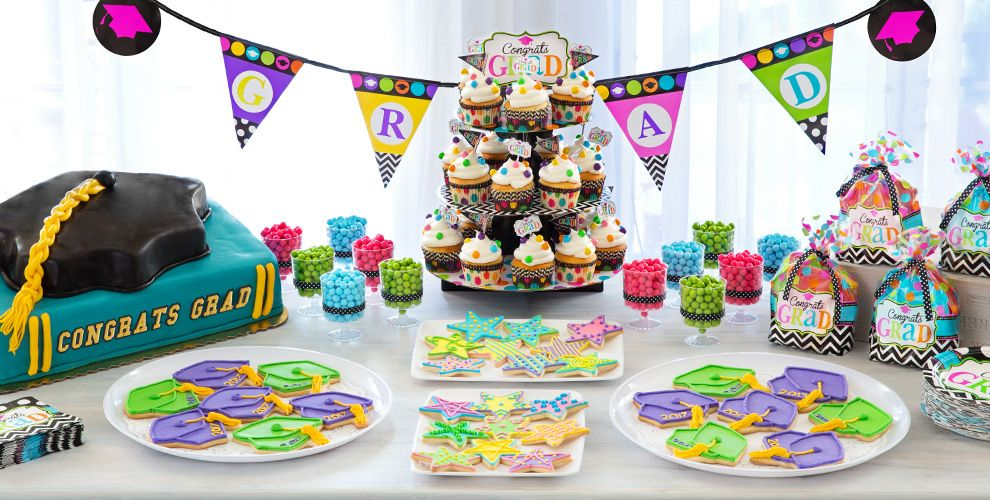 Colorful Commencement Party Supplies